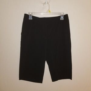 Chico's black bermuda shorts size .5 (s 6)us size